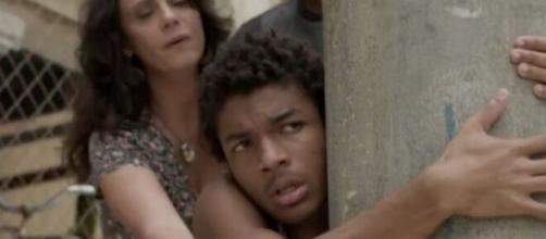 Wesley irá temer aparecer na frente dos colegas em 'Totalmente Demais'. (Reprodução/TV Globo)