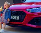 La foto del criticado posteo de la automotriz Audi.