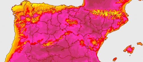 AEMET alerta ante una posible ola de calor. Fuente de la imagen: El Español