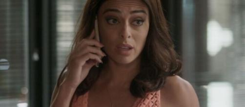 Carol irá se recusar a enganar Hugo em 'Totalmente Demais'. (Reprodução/ TV Globo)