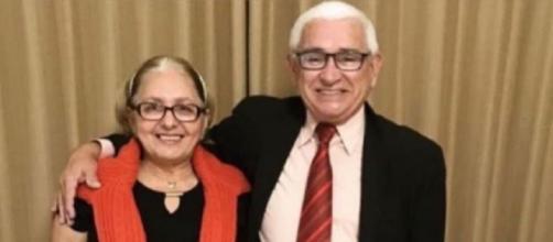 Francisca Vieira Lima e José Ariston Nogueira de Lima, vítimas da Covid-19, no DF. (Arquivo Pessoal)