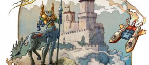 San Marino Comics 2020, il manifesto ufficiale di Enrico Simonato.