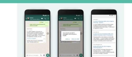 Whatsapp per segnalare eventuali le fake news utilizzerà a breve una lente di ingrandimento.