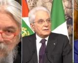 Alessandro Meluzzi, Sergio Mattarella e Giuseppe Conte.
