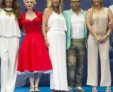 Karmele Marchante celebra el 5º aniversario de Sálvame con sus compañeros