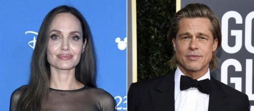 Brad Pitt e Angelina Jolie separam após dez anos juntos. (Arquivo Blasting News)
