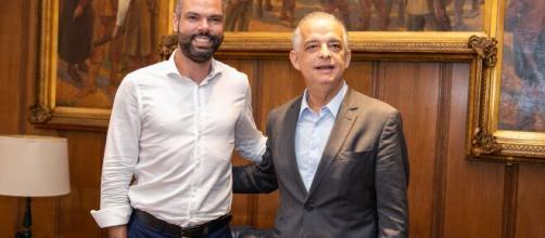 Bruno Covas (PSDB) e Márcio França (PSB) serão candidatos à prefeitura de São Paulo. (Arquivo Blasting News)