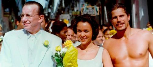 'Dona Flor e Seus Dois Maridos' foi exibida nos anos 90. (Reprodução/TV Globo)