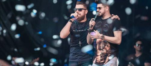 Dupla Zé Neto & Cristiano faz live. (Arquivo Blasting News)