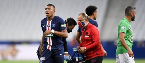PSG : Kylian Mbappé et Thilo Kehrer sortent sur blessure - ligue1.fr