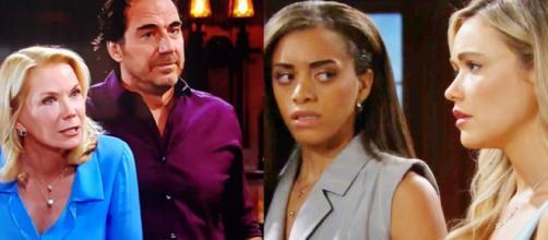 Beautiful, spoiler Usa: Brooke vuole farla pagare a Flo e Zoe per lo scambio delle culle.
