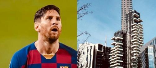 Leo Messi starebbe pensando di comprare casa a Milano, a Torre Solaria.