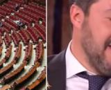 Deputati incassano bonus per partite Iva, reazione stizzita di Matteo Salvini.
