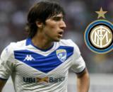 Sandro Tonali, il centrocampista del Brescia sarebbe vicino al trasferimento all'Inter.