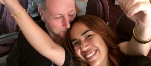 '90 Day Fiancé': Annie & fans loves David's funny twerking video. [Image Source: TLC/ YouTube]