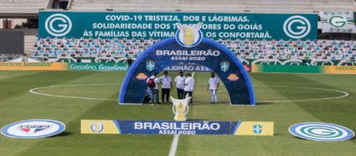 Goiás x São Paulo é adiado. (Arquivo Blasting News)