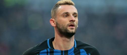 Brozovic con la maglia dell'Inter.