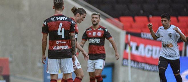 Atlético-MG surpreende o Flamengo e vence na estreia do Brasileirão