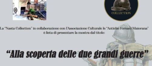 'Alla scoperta delle due grandi guerre' - Cimeli storici bellici.