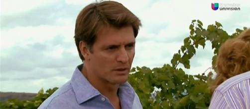 Jerônimo se arrepende do casamento. (Reprodução/Televisa)