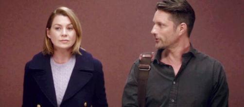 Nella tredicesima stagione di Grey's Anatomy, Meredith Grey intraprende una relazione con il collega Nathan Riggs.