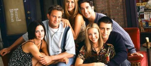 """El elenco de la serie estadounidense """"Friends"""""""