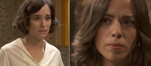 Il segreto, trame Spagna: Rosa tenta di far del male a Marta dopo aver frainteso Adolfo.