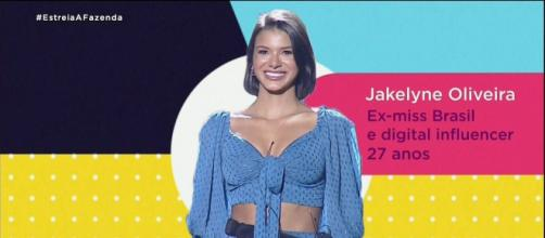 Jakelyne Oliveira é a primeira fazendeira da edição. (Arquivo Blasting News)