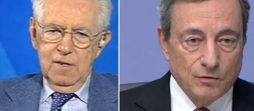 L'aria che tira, Mario Monti ha parlato anche delle richieste di Mario Draghi