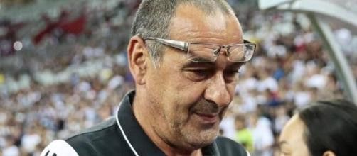 Maurizio Sarri, ex tecnico della Juventus.