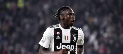 Moise Kean può tornare in Italia: piacerebbe alla Juve.