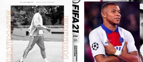 PSG star Kylian Mbappe named official cover star of FIFA 21 ... - dailymail.co.uk