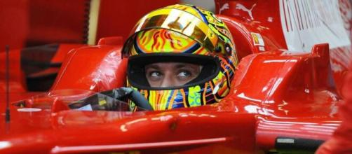 Valentino Rossi e la sua esperienza in Formula Uno.