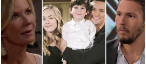 Beautiful, trame al 19 settembre: Brooke dirà a sua figlia di annullare il matrimonio.