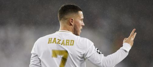 Eden Hazard, ala belga del Real Madrid - foto di therealchamps.com.