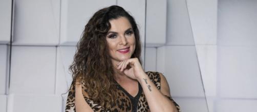 Luiza Ambiel chama Marcos Mion de Bial. (Arquivo Blasting News)