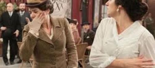 Una vita, trame 13-18 settembre: Lolita schiaffeggia Genoveva in mezzo alla strada.