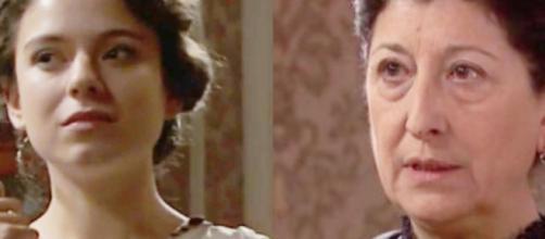 Una vita, trame Spagna: Genoveva chiede ad Ursula di eliminare Marcia.