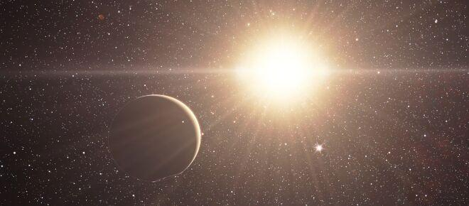 Astronomia: immortalata la morte di una stella distrutta da un buco nero