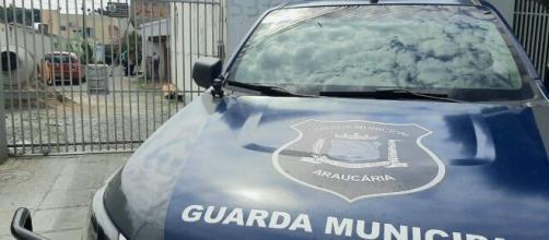 Crime em Araucária aconteceu no Jardim Iguaçu. (Reprodução/RIC Record TV)