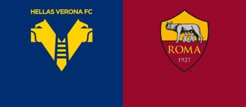 Hellas Verona - Roma, prima giornata di Serie A.