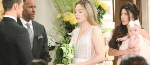 Beautiful, spoiler 14 settembre: Phoebe chiama Hope 'mamma' alle sue nozze.
