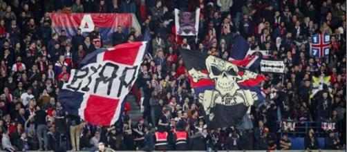 Les Banderoles des Ultras du PSG font polémiques - Photo capture d'écran Instagram CUP
