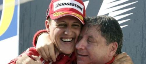 Michael Schumacher e Jean Todt.
