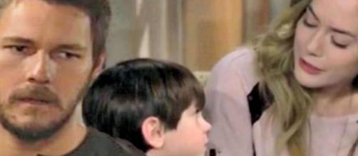 Beautiful, trame al 26 settembre: Douglas confessa a Liam che Phoebe è Beth.
