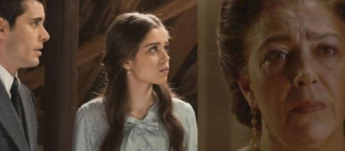 Il segreto, trame al 26 settembre: Pablo e Carolina sono fratelli, Tomas trova Francisca.