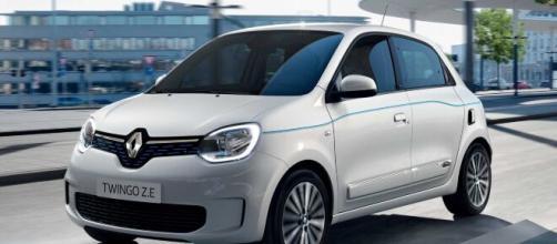 La nuova Renault Twingo Electric.