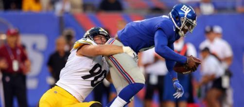 New York Giants e Pittsburgh Steelers se enfrentam nesta segunda-feira às 20h10 (horário de Brasília). (Arquivo Blasting News)