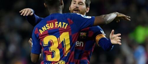 O próximo herdeiro? Ansu Fati é um dos grandes nomes da base do Barcelona. (Arquivo Blasting News)