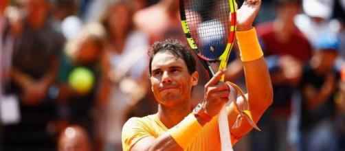 Rafa Nadal, nove volte vincitore degli Internazionali d'Italia.